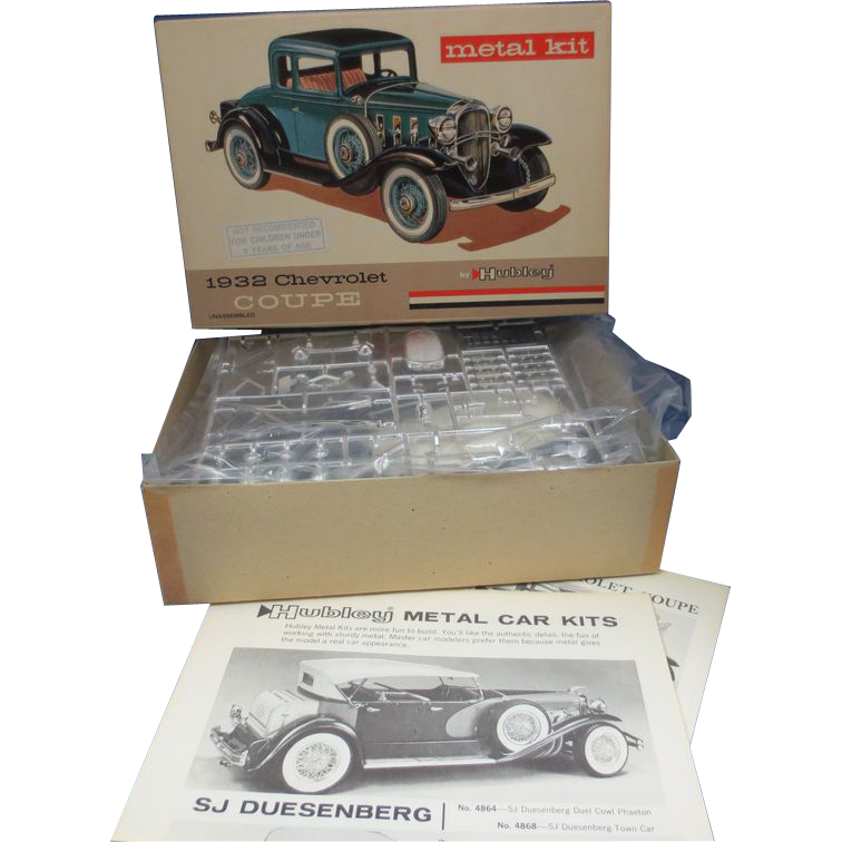 Hubley 1932 Chevrolet Couple Metal Kit #4869