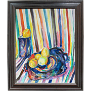 SALE Post impressionist Still Life by Charles Frith