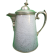 Large Antique Gray Agate Coffee Pot