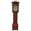 American Chippendale Wood Tall Clock