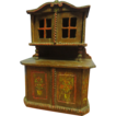 Old German Folky Hutch Folk Art