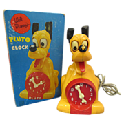 SALE 1950's Pluto Clock