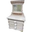 Fabulous Victorian Miniature Dresser w/ Candle Shelf