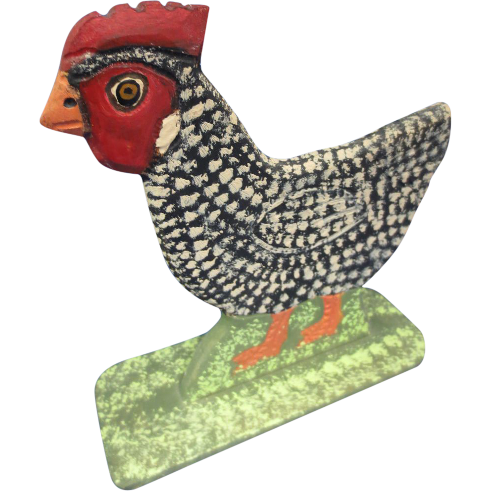 Folk Art Chicken