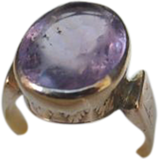 Beautiful Vintage Amethyst Ring