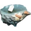 Roseville Magnolia Shell Planter #453-6