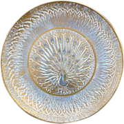 11 Stangl Peacock Plate #3774