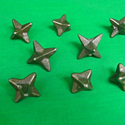 8-Antique Civil War Era Caltrops 1860's
