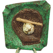 Heavy Baseball Ashtray Heavy Iron