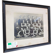 1921 Lancaster PA Basketball Team Photo