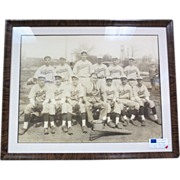 Large Baseball Photo from Williams Co. Atlantic City NJ