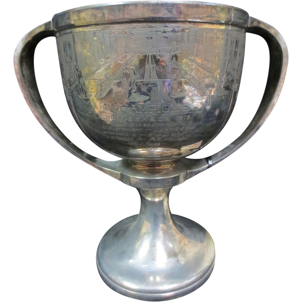 1914 Phenomenal Bowling Trophy Loving Cup