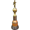 "22"" Lrg. World Figural 1949 Bowling Trophy"