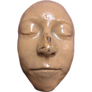 Clay Art Face Jug Sculpture