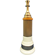 Original 1952 Catalain Figural Queen Chess Trophy