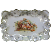 Antique R.S. Prussia Dresser Tray