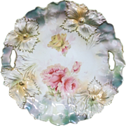 Antique R.S. Prussia Cake Plate