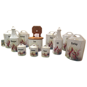 Beautiful 11 Piece Canister Set