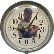 1960's Mickey Mantle Alarm Clock-Very Cool!