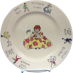 Adobe Syracuse China Child's Nursery Rhyme Plate