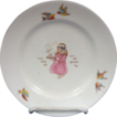 Child's Plate-&quot;Little Jenny Lea Get's Her Mother's Tea&quot;