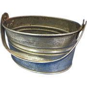 Tin Lunch Bucket