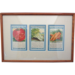 Framed Penny Packet Seeds-The Childrens Flower Mission