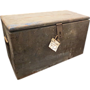 Antique Painter's Crate