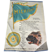 1910 Michigan Football Tobacco Silk S23 - College Yell