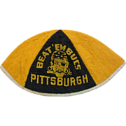RARE-Beat'em Bucs Pittsburgh Pirates Baseball Beanie Hat Souvenir