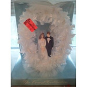 Vintage the Coast Collection Bride and Groom Wedding Cake Topper