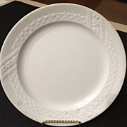 "SALE Alfred Meakin ironstone plate - ca: 1875 antique 8-3/4"" diameter"