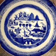 "SALE Chinese Porcelain Plate - 7"" diameter/ca: early to mid 1800's"
