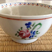 SALE Chinese porcelain bowl/cup ca: early 1800's