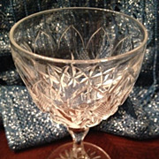 SALE Wine or cordial glass 4-1/2 inches tall