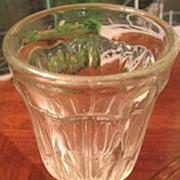 SALE Cordial / wine glass 4-3/4 inches tall