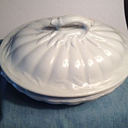 Elsmore & Forster of Tunstall Ceres Shape Antique Stoneware Tureen - 1859