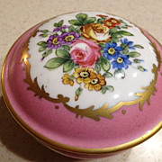 French Porcelain Dressing table box w/cover - Sevres Mark