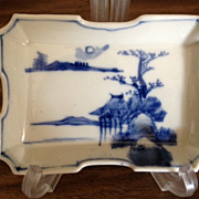 SALE Japanese Porcelain Dish - Late 19th Century