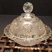 Roman Rosette Butter Dish & Cover-Antique-1875-1898
