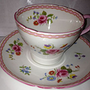 Shelley England Fine Bone China - Cup & Saucer