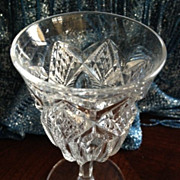 SALE Wine/cordial glass 4-1/2 inches tall