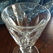 SALE Wine or cordial glass - 4 inches tall