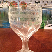 SALE Wine or cordial glass 5-1/8 inches tall