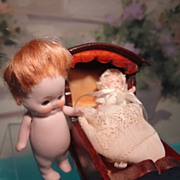 Small German All Bisque Doll