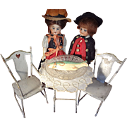 Doll House Tin Bistro Set