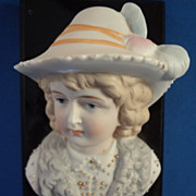 Bisque Lady's Portrait as a Paperweight