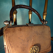 Soft Leather Doll's Purse