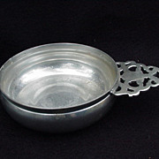 Stieff Pewter Porringer for Historic Williamsburg