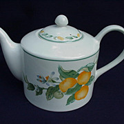 Avon China Country Fruit Tea Pot and Lid by Julie Pople